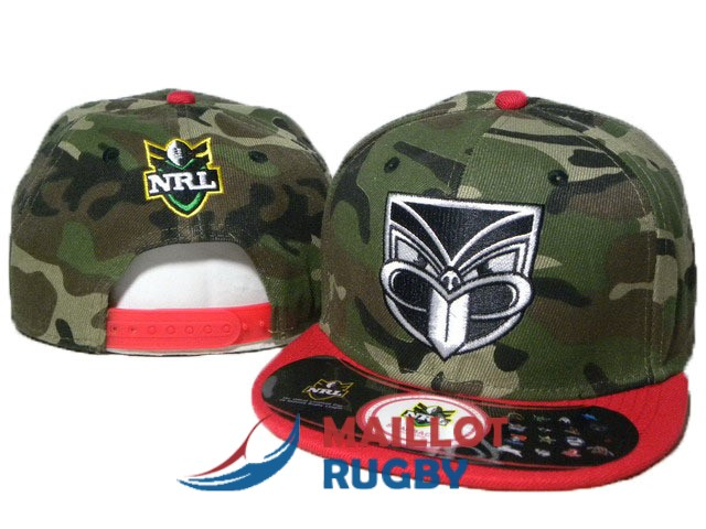 nouvelle-zelande warriors NRL casquettes camouflage rouge [MY-224]
