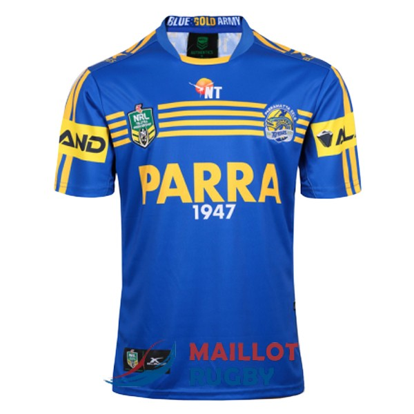 parramatta eels rugby maillot domicile 2017