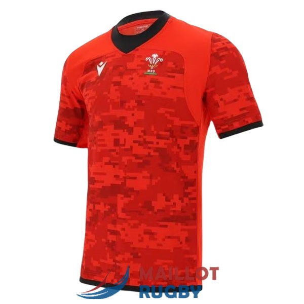 pays de galles rugby maillot entrainement 2020-2021