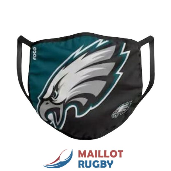 philadelphia eagles masques noir blanc vert [MY-20-9-25-97]