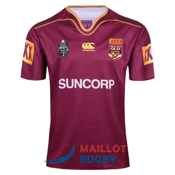 queensland maroons rugby maillot domicile 2017