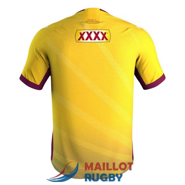 queensland maroons rugby maillot entrainement 2021