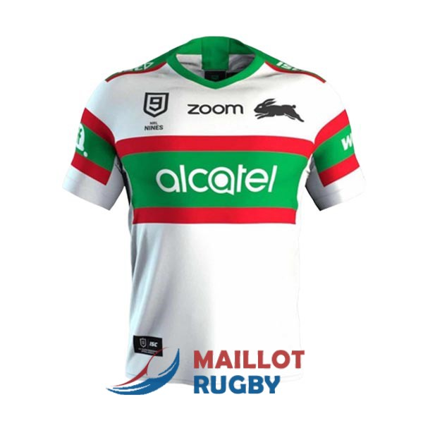 south sydney rabbitohs 9s rugby maillot blanc 2020 [MY-143]
