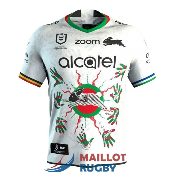south sydney rabbitohs rugby maillot indigenous 2021