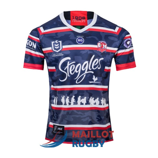 sydney roosters rugby maillot commemorative 2019-2020