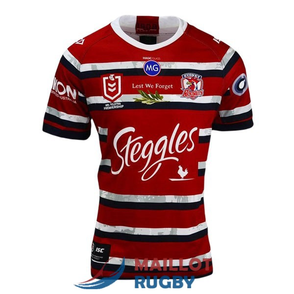 sydney roosters rugby maillot commemorative 2020