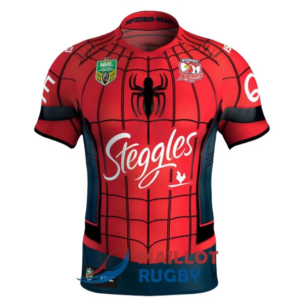 sydney roosters rugby maillot edition special territoire 2017