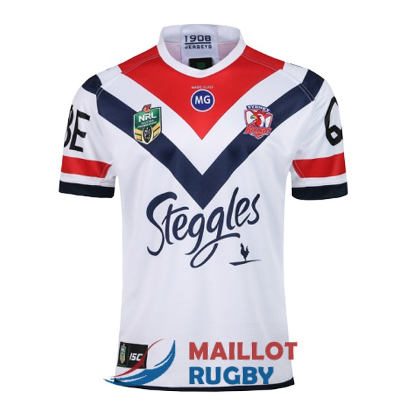 sydney roosters rugby maillot exterieur 2018-2019
