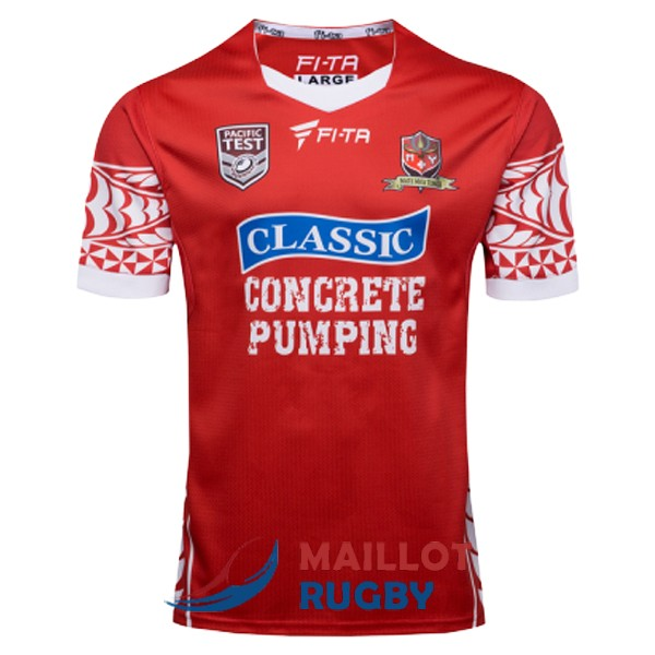 tonga NRL maillot domicile 2017 [MY-375]