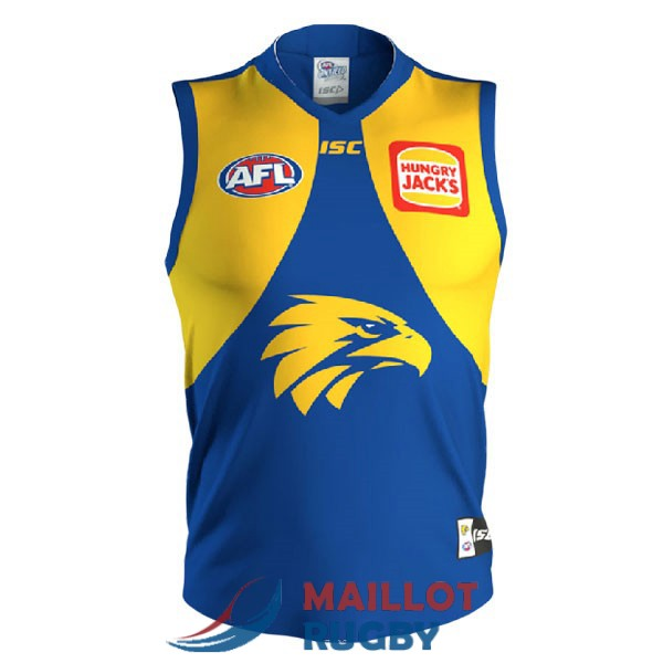 west coast eagles AFL Guernsey maillot bleu jaune 2020-2021