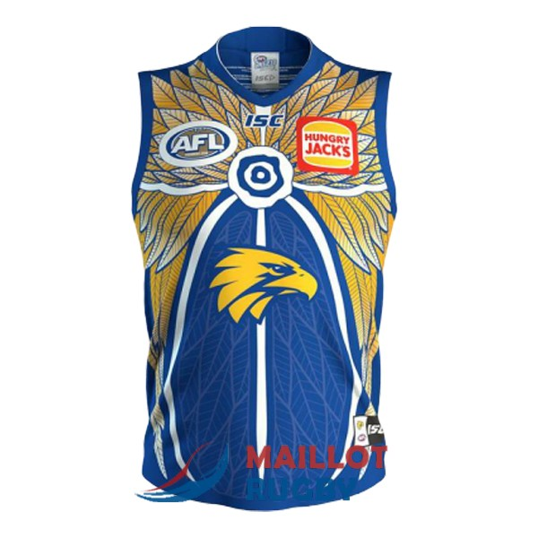 west coast eagles AFL Guernsey maillot commemorative 2019