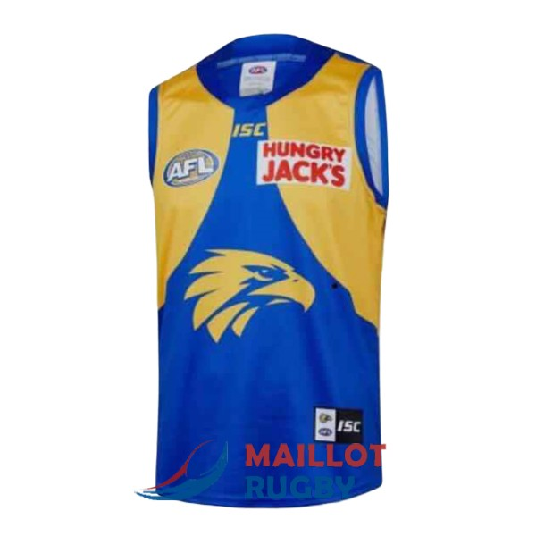west coast eagles AFL Guernsey maillot domicile 2019