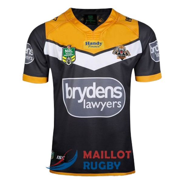 wests tigers rugby maillot domicile 2017