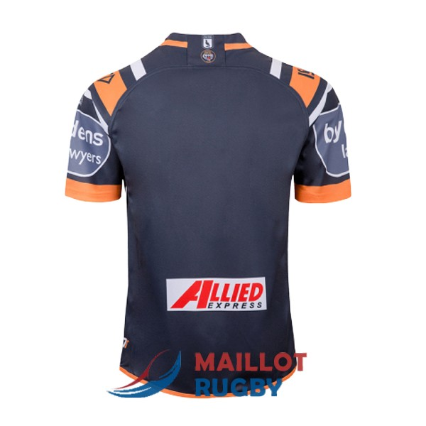 wests tigers rugby maillot domicile 2019-2020