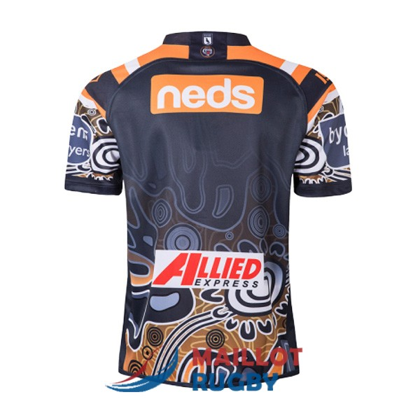 wests tigers rugby maillot heros 2019