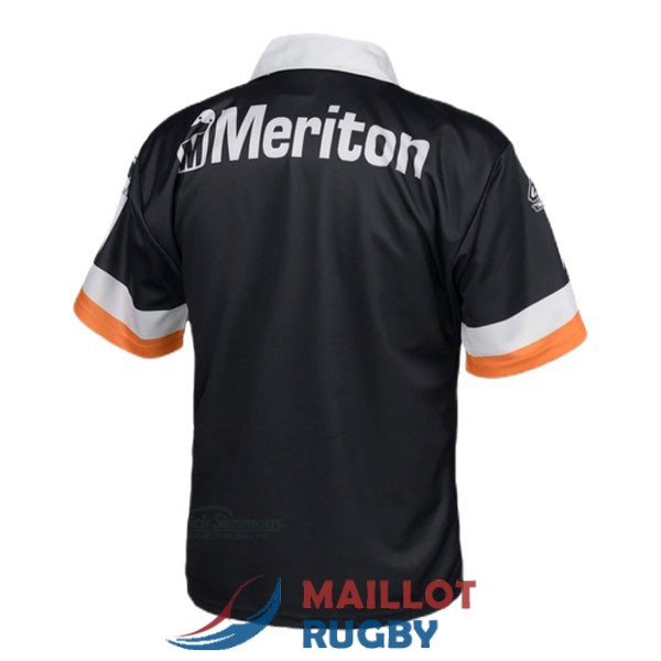 wests tigers rugby maillot rerto 1998